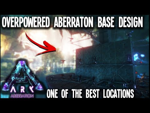 Ark | Overpowered Aberration PvP Base In One Of The Best Base Location On Aberration[Tutorial]