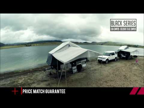 Australia Wide Distribution and Shipping Network Black Series Campers