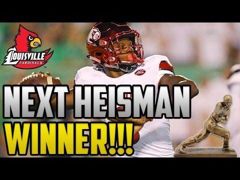 Why Lamar Jackson Will Win The Heisman Trophy!!!