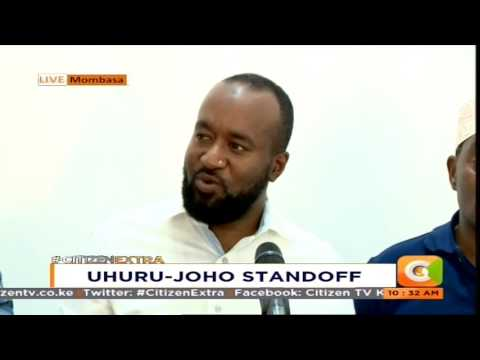 Joho blasts Uhuru, Jubilee for blocking him from attending rally