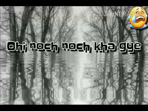 Khanjar ! Whatsapp lyrics video