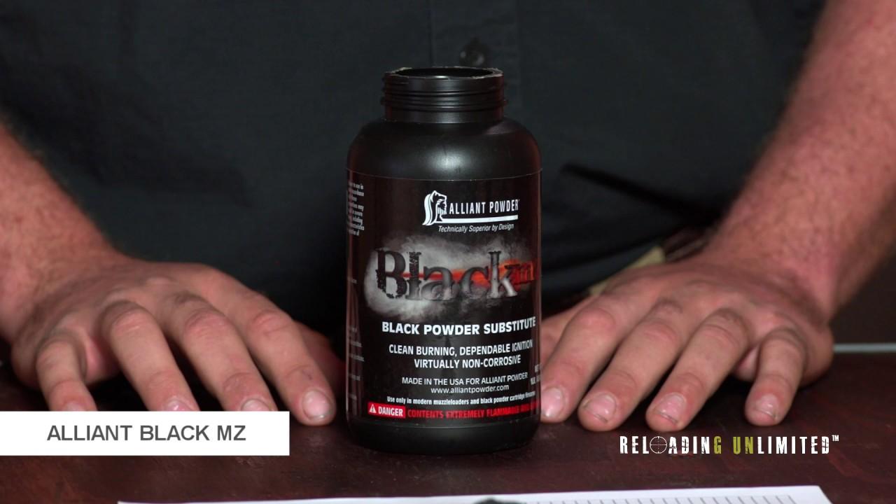 Alliant Powder Black MZ At Reloading Unlimited