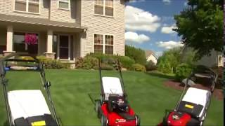 Toro Recycler Walk Behind Self Propelled Mowers