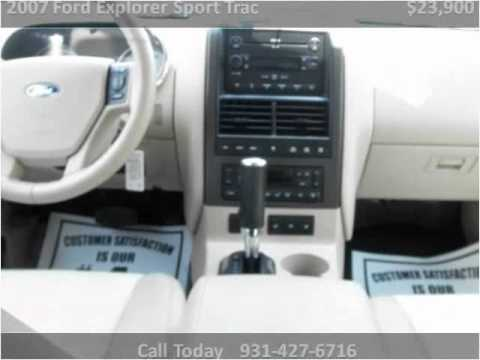 2007 Ford Explorer Sport Trac Used Cars Ardmore TN