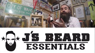 J's Beard Essentials - Top Shelf Oil & Balm (w/giveaway)