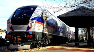 New Siemens Charger SC-44 - MARC Commuter Trains Galore