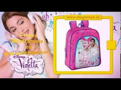 Mochila Violetta y otros productos