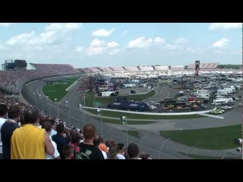 A10 Thunderbolts Low Fly-Over at Michigan International Speedway