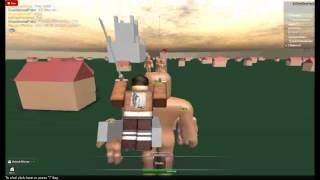 Attack On Titan -Roblox IxP-