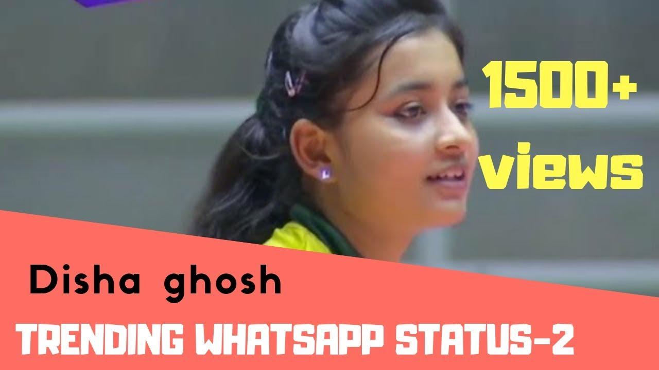 Disha Ghosh New Crush Volleyball Player Status Tamil Youtube