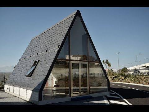 Italian Architect Designs Folding House That Can Be Built in 6 Hours   HD
