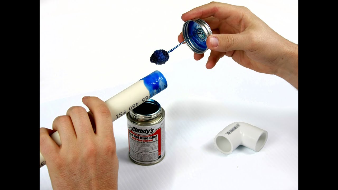 How To Glue PVC Pipes & Fittings Together & Achieve A