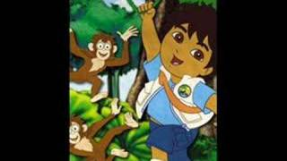Go Diego Go! Morning in the RainForest!