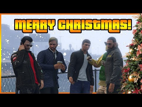 The origin of snow in GTA Online ft. Gtamen, Gypsy, Pyrerealm Gaming and CentralGamingHub