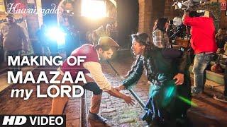 Making of 'Maazaa My Lord' Video Song   Ayushmann Khurrana   Hawaizaada   T-Series