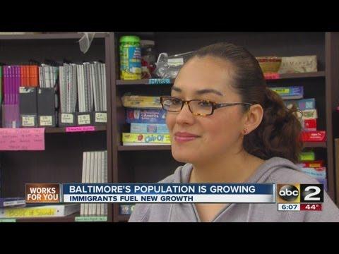 Baltimore Population Growing