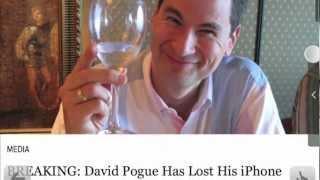 David Pogue: Bekannter Technik-Blogger jagd iPhone-Dieb via Twitter