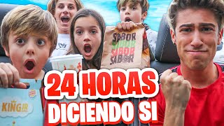 24 HORAS DICIENDO QUE SI A TODO !!