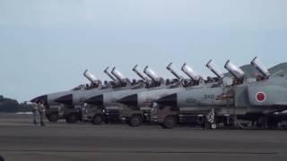 第301飛行隊 F-4EJ改 Final Demo in Nyutabaru