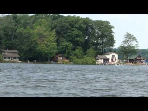 Boating on Pontiac Lake, Waterford, MI