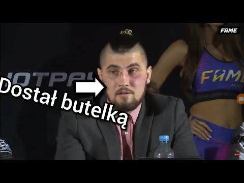 Wielka bjka na ll Konferencji Fame MMA 3 SZOOK (Kasjusz Polak Ambro)