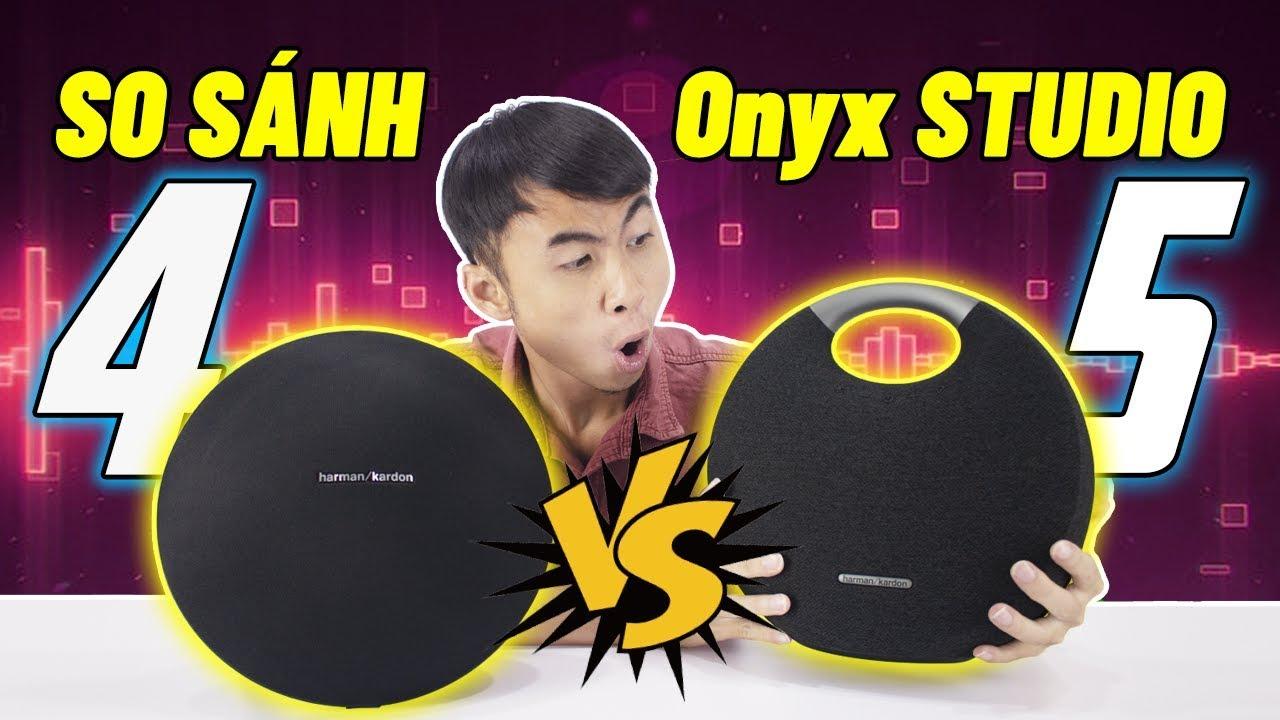 Harman Kardon Onyx Studio 4 vs 5: Anh em sẽ chọn loa nào?
