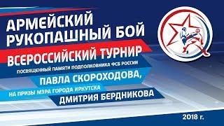 Всероссийский турнир по рукопашному бою памяти Павла Скороходова