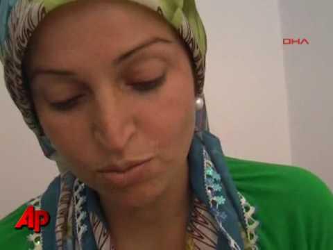 Raw Video: Boy Survives Balcony Fall in Turkey