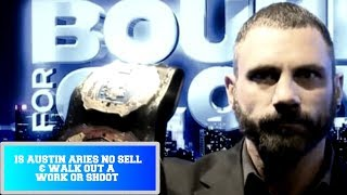 Austin Aries NO SELLS Bound For Glory 2018 Finish & Walks Out    Work or Shoot?    IMPACT Wrestling