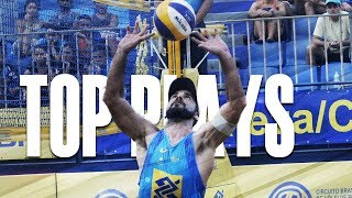 CBV Fortaleza 2018 • TOP MENS PLAYS #4 • Beach Volleyball World