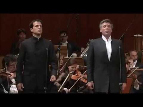 Thomas Hampson & Luca Pisaroni - Il rival salvar tu dei... Suoni la tromba (Bellini: I Puritani)