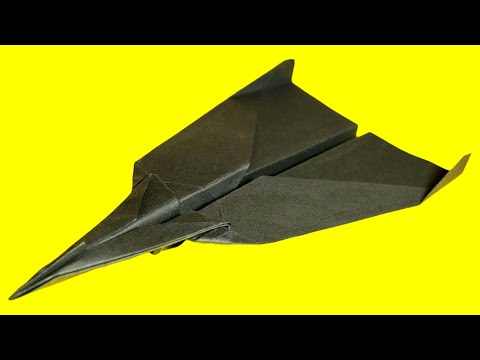 How to make a Paper airiplane that Flies Far - Cool paper airplanes for kids . Irena