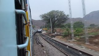 Garib Nawaz Express Crossing Karnataka Sampark Kranti !!