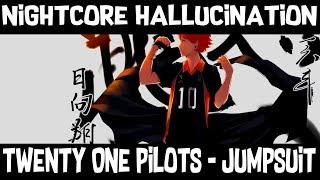 •【 Nightcore – Jumpsuit ( Lyrics ) 】•