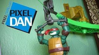 Nickelodeon Teenage Mutant Ninja Turtles Z-Line Ninjas Playsets Video Review