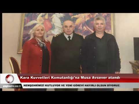 Kara Kuvvetleri Komutanlığı'na Musa Avsever atandı
