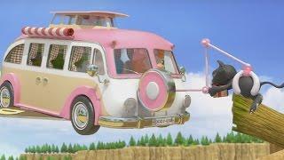 Мультики про машинки и путешествия - Дуда и Дада - Все серии подряд - Сборник 4 - Мультфильмы 2016 thumbnail
