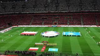 Польша - Казахстан: Стадион запел