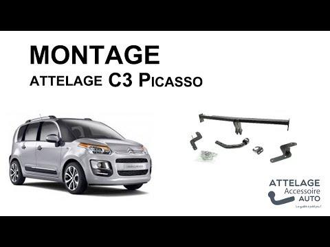 Montage attelage C3 picasso