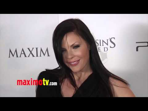 Christa Campbell at ASSASSINS CREED III Video Game Launch ARRIVALS