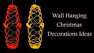 DIY Christmas Wall Hanging Craft That You Can Make With Kids
