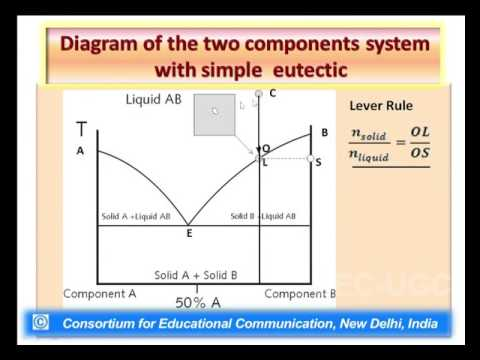 Phase Diagram of Two Component System  YouTube