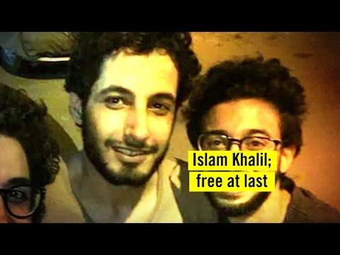 Islam Khalil; free at last