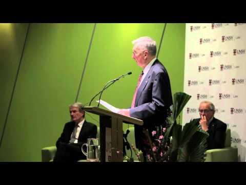 The 2012 Hal Wootten Lecture - Sir Gerard Brennan