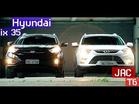 Comparativo JAC T6 enfrenta o l der Hyundai ix35