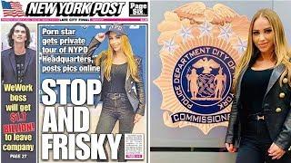 Pornostjerne kom seg inn i politiets aller helligste