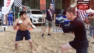 Бойцы СПЕЦНАЗА против ТИГРА и Крошилы !!! Бой 2 на 2