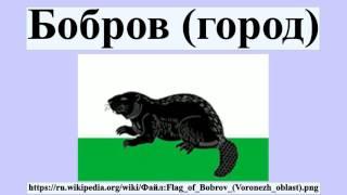 Бобров (город)