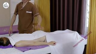 HOT Stone Massage Technique in Japan   Therapy relaxing low back pain relief