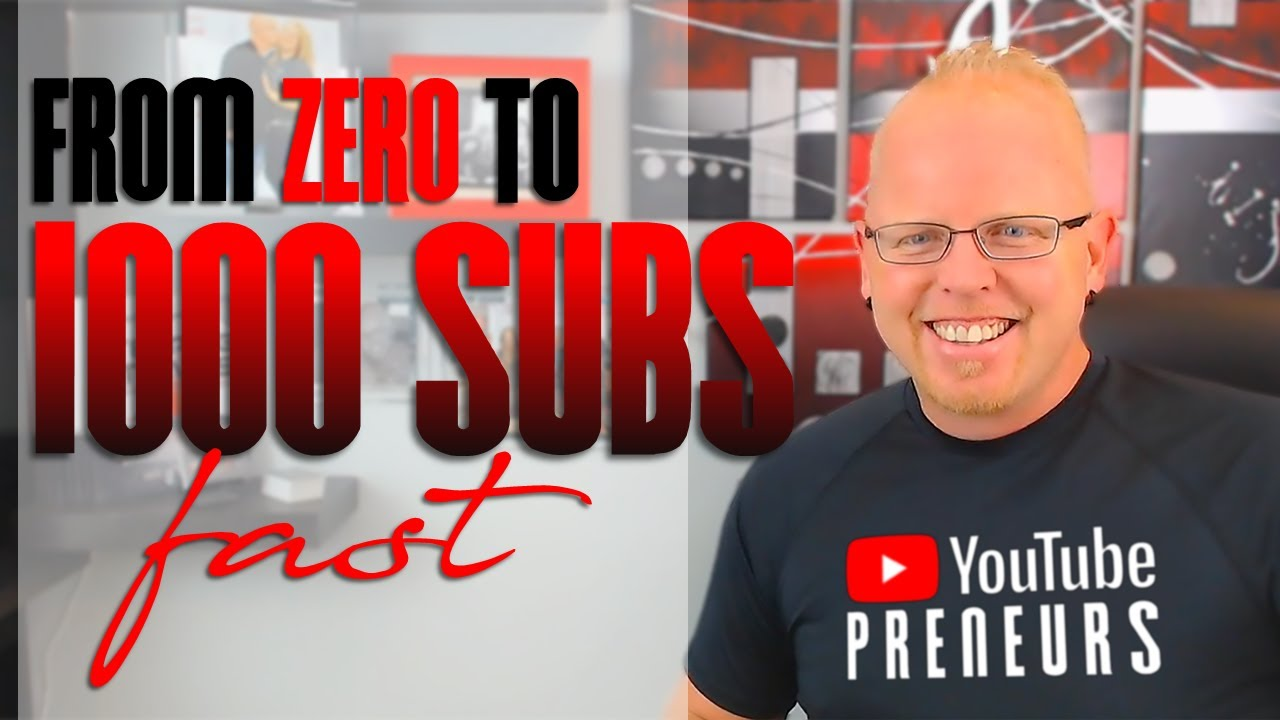 How To Grow a NEW YOUTUBE CHANNEL from SCRATCH! (FAST)